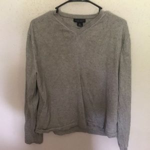 Large grey banana republic sweater